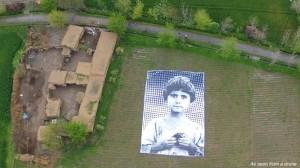 child face drone