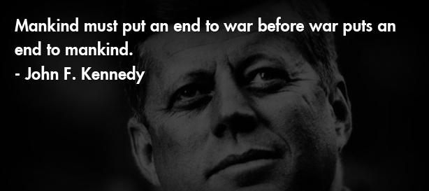 jfk end to war