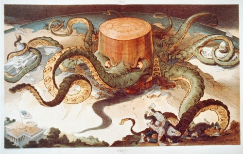 destruction of the world by octopus